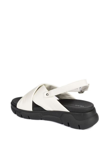 Sandalo cloud bianco FRAU | Sandali flats | 5763CLOUD-BURRO