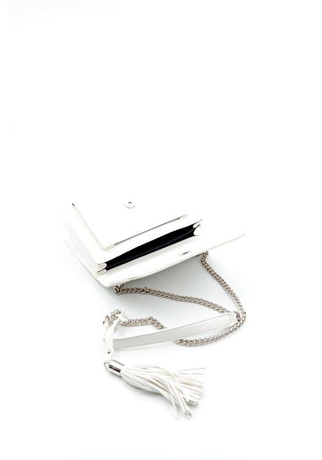 Tracolla m classic bianco GAELLE | Borse mini | 2156PELLE-BIANCO