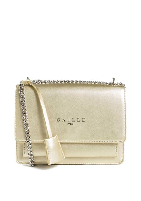 Tracolla m classic oro GAELLE | Borse mini | 2156PELLE-ORO