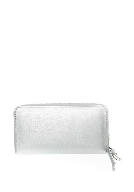 Portafoglio zip argento GAELLE | Portafogli | 2172PELLE-ARGENTO