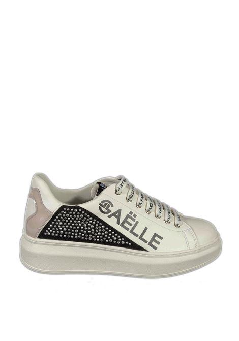 Sneaker strass bianco GAELLE | Sneakers | 2256PELLE-BIANCO