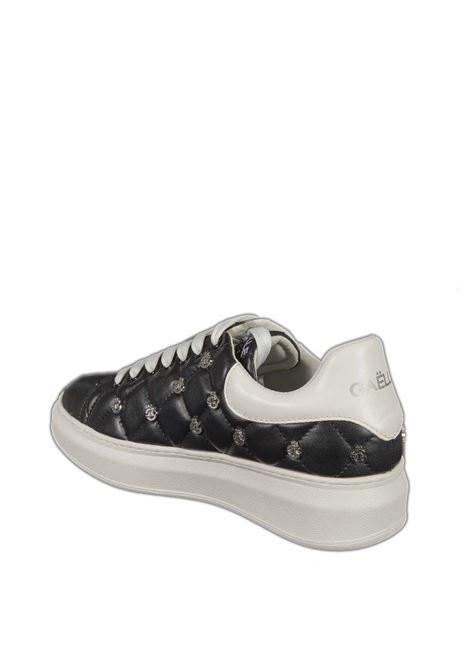 Sneaker matelassé nero GAELLE | Sneakers | 2257PELLE-NERO