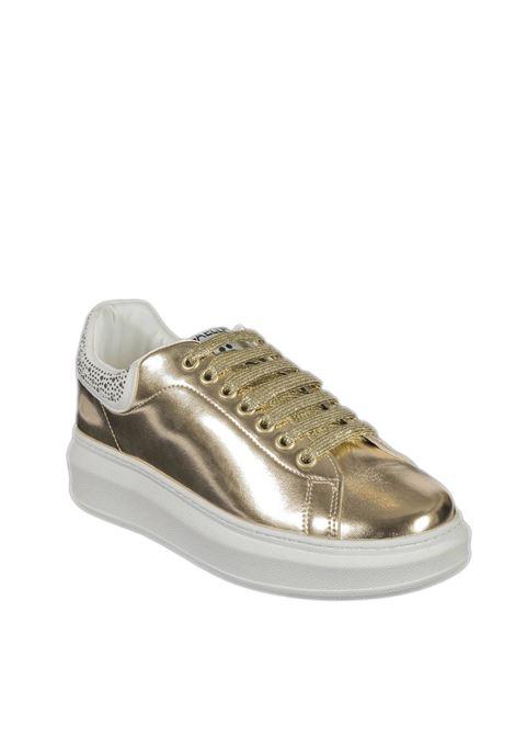 Sneaker strass oro GAELLE | Sneakers | 2291PELLE-GOLD