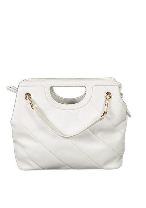 Shopping chain bianco GAELLE | Borse a spalla | 2402PELLE-BIANCO