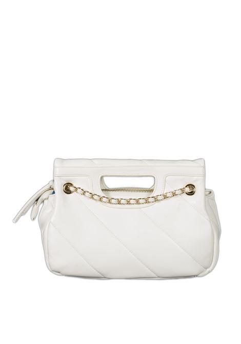 Shopping s chain bianco GAELLE | Borse a spalla | 2404PELLE-BIANCO