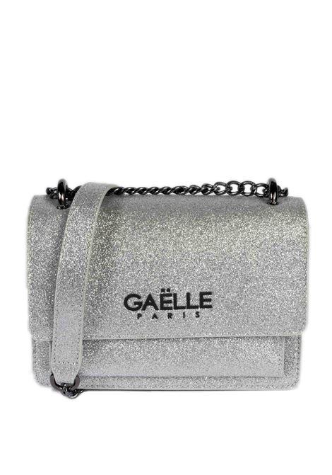 Tracolla glitter argento GAELLE | Borse mini | 2506GLT-ARGENTO