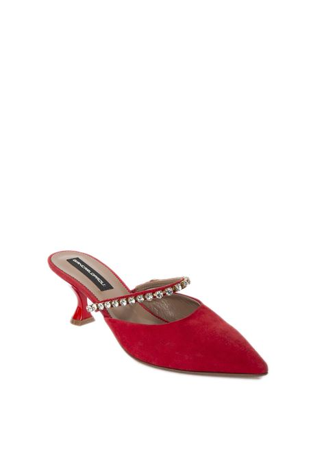 Chanel Gioiello camoscio rosso  GIANCARLO PAOLI | Décolleté | M7RG02CAM-PASSION