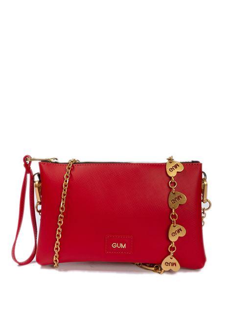 Tracolla heart chain rosso GIANNI CHIARINI GUM | Borse mini | 1137HEART CHAIN-11244