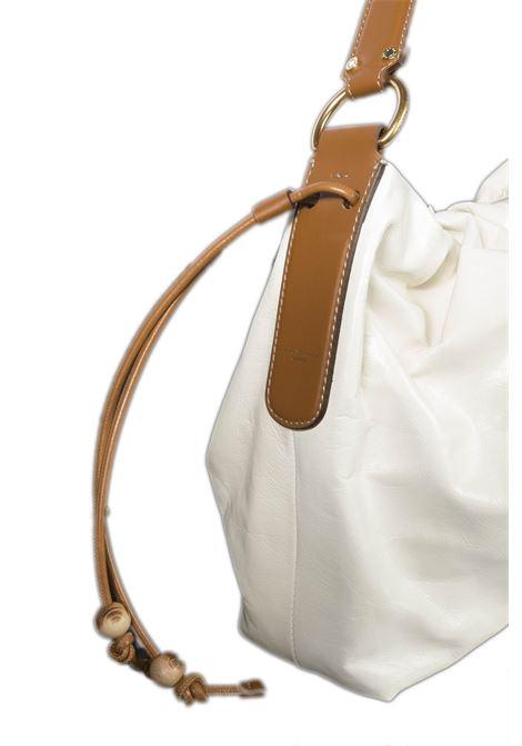 Hobo peonia bianco GIANNI CHIARINI | Borse a spalla | 8421PEONIA-3890