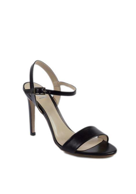 Sandalo nappa nero t90 GIANNI MARRA | Sandali | 615NAPPA-NERO