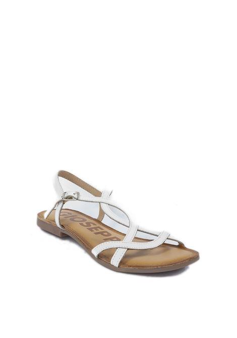 Sandalo flat Navassa bianco GIOSEPPO | Sandali flats | 59846NAVASSA-BIANCO