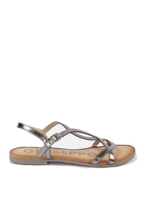 Sandalo navassa piombo GIOSEPPO | Sandali flats | 59846NAVASSA-PIOMBO