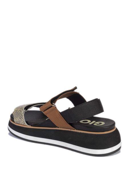 Sandalo elicott nero GIOSEPPO | Sandali flats | 62599ELICOTT-NERO