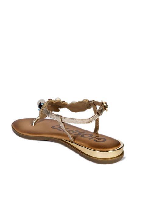 Infradito eldoret oro GIOSEPPO | Sandali flats | 63022ELDORET-ORO
