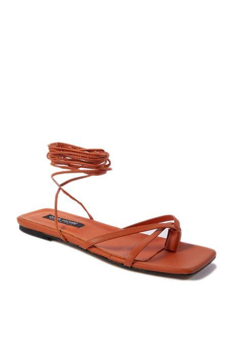 Sandalo Elodie arancione GISEL MOIRE | Sandali flats | ELODIENAPPA-ARANCIO