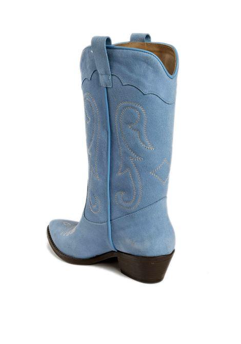 Stivale Megan camoscio jeans GISEL MOIRE | Stivali | MEGANCAM-PARADISE