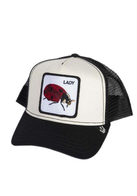 Cappello coccinella nero/bianco GOORIN BROS | Cappelli | 0571TESS-BLACK