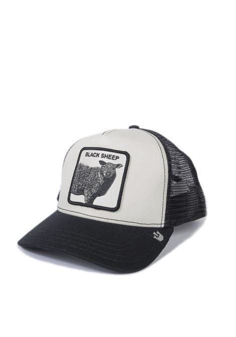 Cappello pecora bianco/nero GOORIN BROS | Cappelli | 6100BLACKSHEEP-BLACK