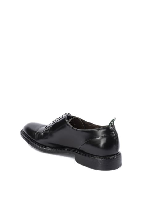 Derby polished nero/fondo cuoio GREEN GEORGE | Stringate | 3029POLISHED-NERO