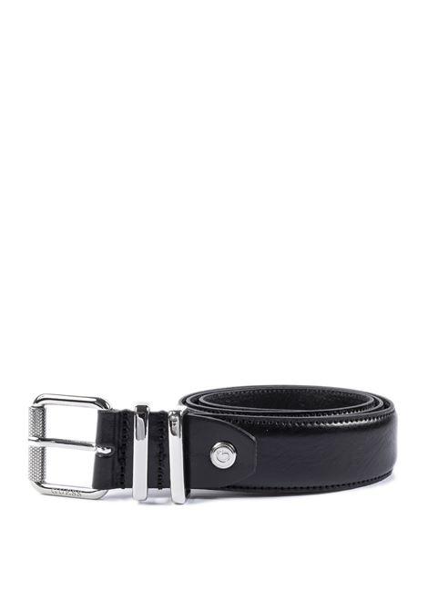 Cintura pelle nero GUESS | Cinture | BM7350VIN35-BLA