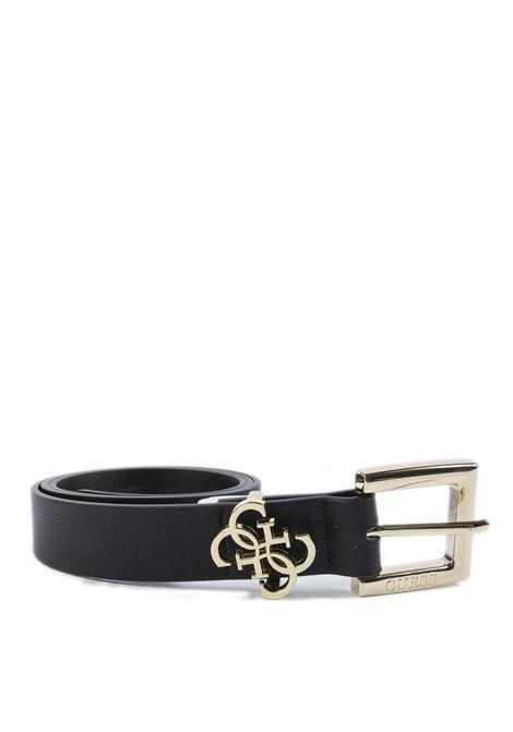 Cintura fibbia nero GUESS | Cinture | BW7408PELLE-BLA