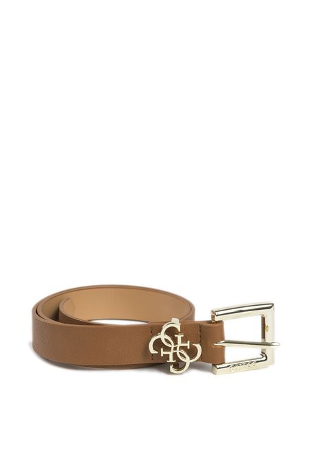 Cintura fibbia cuoio GUESS | Cinture | BW7408PELLE-COG