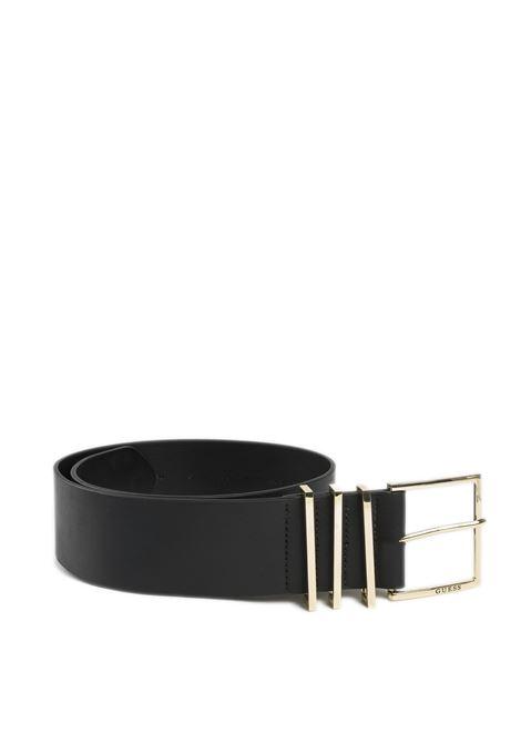 Cintura soft nero GUESS | Cinture | BW7438SOFT-BLA