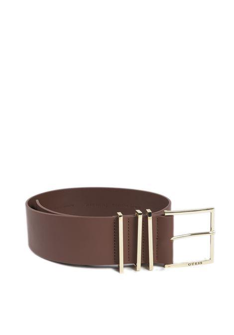 Cintura soft cuoio GUESS | Cinture | BW7438SOFT-COG