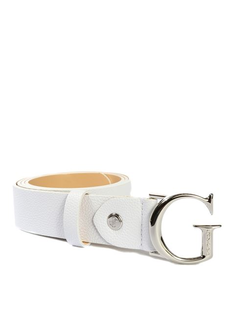 Cintura corily bianco GUESS | Cinture | BW7451CORILY-WHI