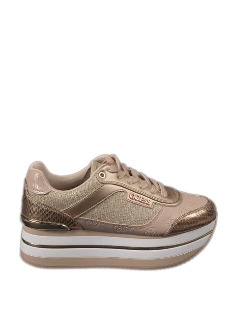 Sneaker platform cipria GUESS | Sneakers | FL5HNSHANSIN-BLUSH