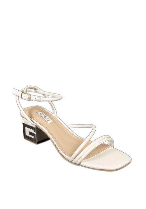 Sandalo fasce crema GUESS | Sandali | FL6MACMACRE-CREAM