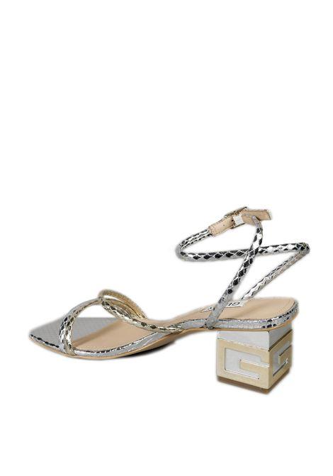 Sandalo fasce platino GUESS | Sandali | FL6MCRMACRE-PLATINO