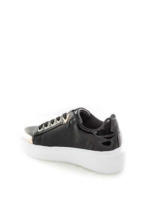 Guess sneaker brayden nero GUESS | Sneakers | FL7BDYBRANDYN-BLACK