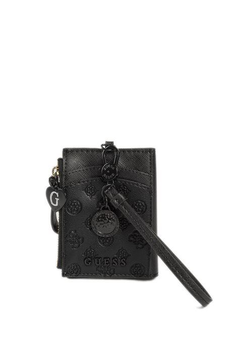 Portafoglio card case nero GUESS | Portafogli | RW7371CARD CASE-BLA