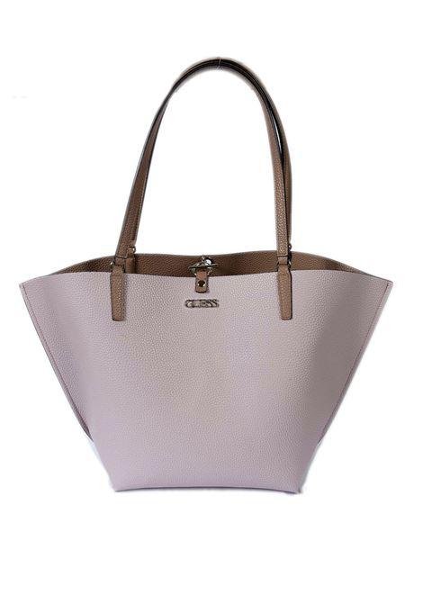 Shopping alby cuoio/rosa GUESS | Borse a spalla | SS7455230ALBY-MCR