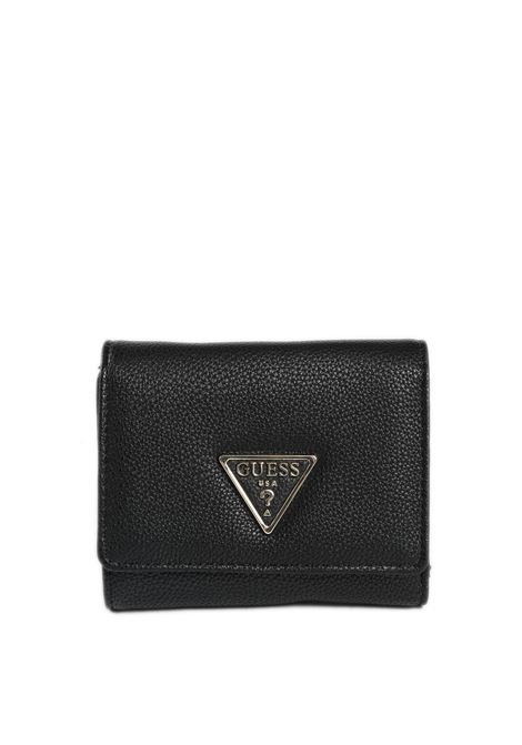 Portafoglio sandrine nero GUESS | Portafogli | VG7965430SANDRINE-BLA