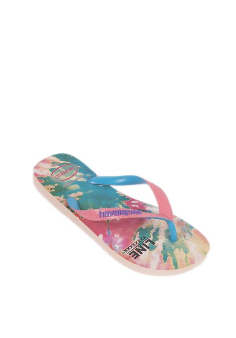 Infradito fashion rosa HAVAIANAS | Sandali flats | 4137258FASHION-0076