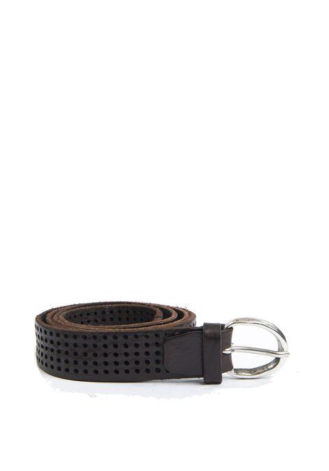 Cintura forata moro ITALIAN BELTS | Cinture | 605/30VIT-T.MORO