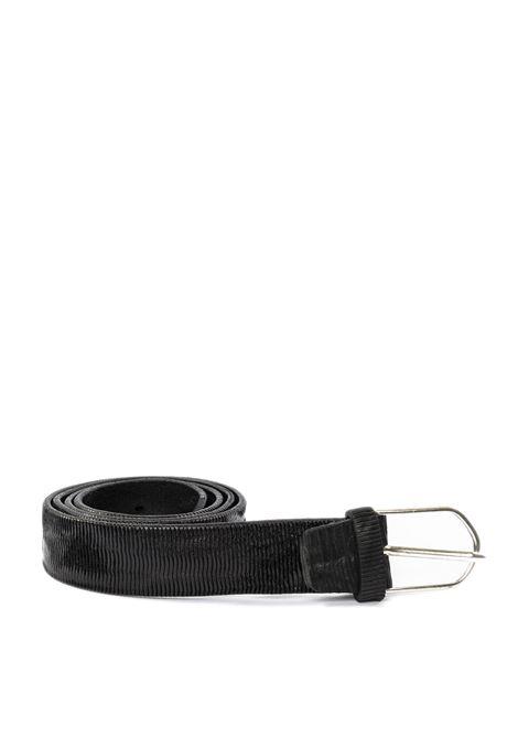 Cintura vintage nero ITALIAN BELTS | Cinture | 621/35VIT-NERO