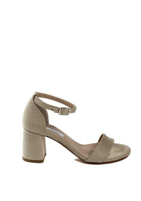 Sandalo cinturino beige L'AMOUR BY ALBANO | Sandali | 177VELOUR-BEIGE