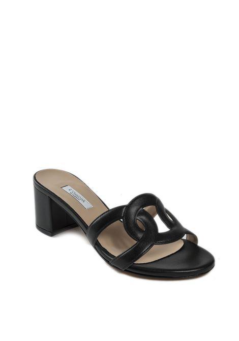 Sandalo soft t60 nero L'AMOUR BY ALBANO | Sandali | 212SOFT-NERO