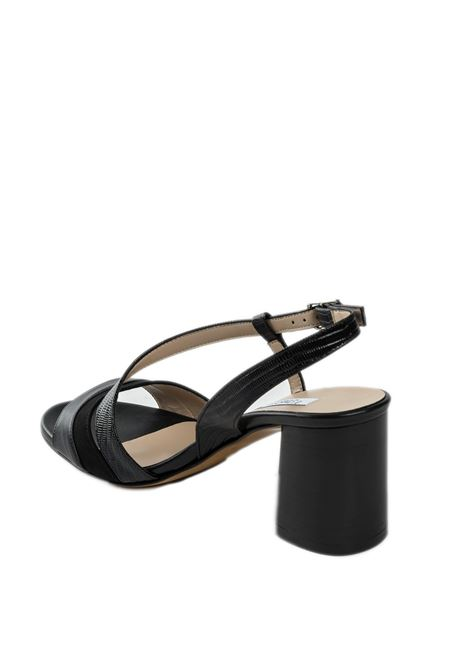 Sandalo onde nero L'AMOUR BY ALBANO | Sandali | 620SOFT-NERO
