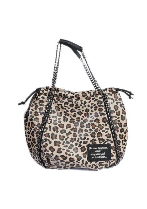 Borsa kitty bag leopard LE PANDORINE | Borse a spalla | 2793KITTY BAG-01