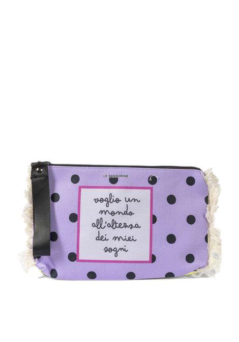 Pochette marina lilla LE PANDORINE | Borse mini | 2803MARINA POCHETTE-02