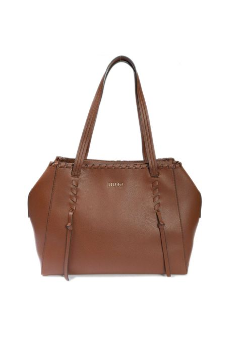 Shopping estrosa cuoio LIU JO | Borse a spalla | A1002E0031ESTROSA-X0282