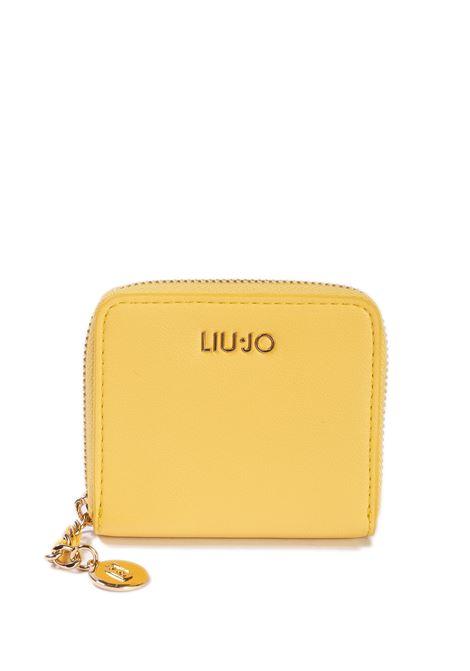 Portafoglio imprevedibile giallo LIU JO | Portafogli | A1083E0040IMPREVEDIBILE-20758
