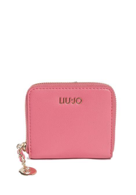 Portafoglio imprevedibile rosa LIU JO | Portafogli | A1083E0040IMPREVEDIBILE-61620