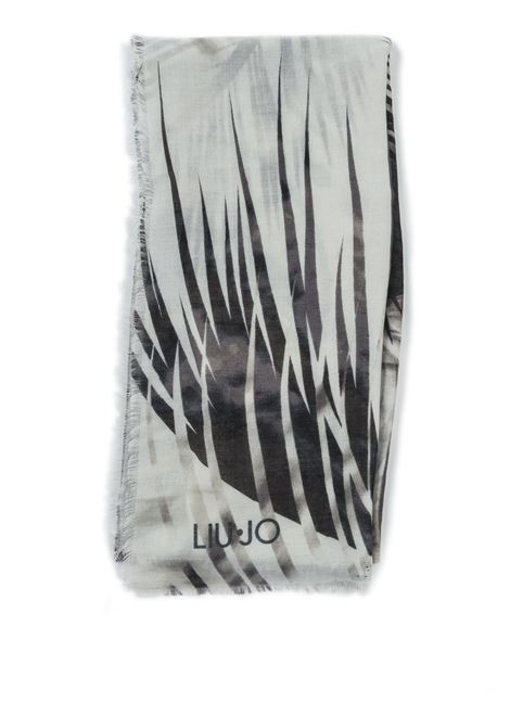 Foulard tropical nero LIU JO | Foulards | A1084T0300TROPICAL-22222