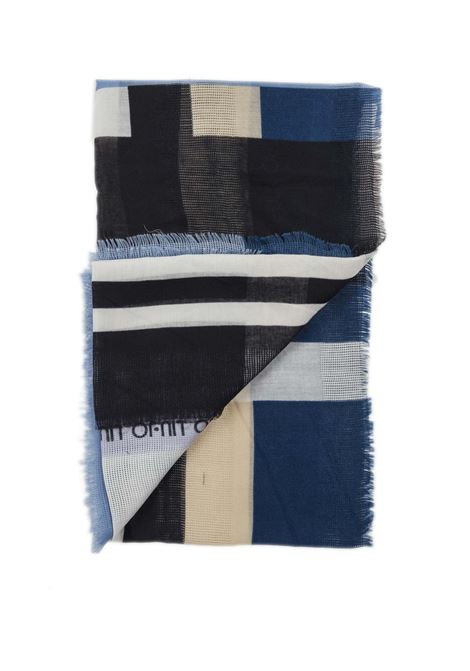 Foulard striper blu LIU JO | Foulards | A1091T0300STRIPES-53932