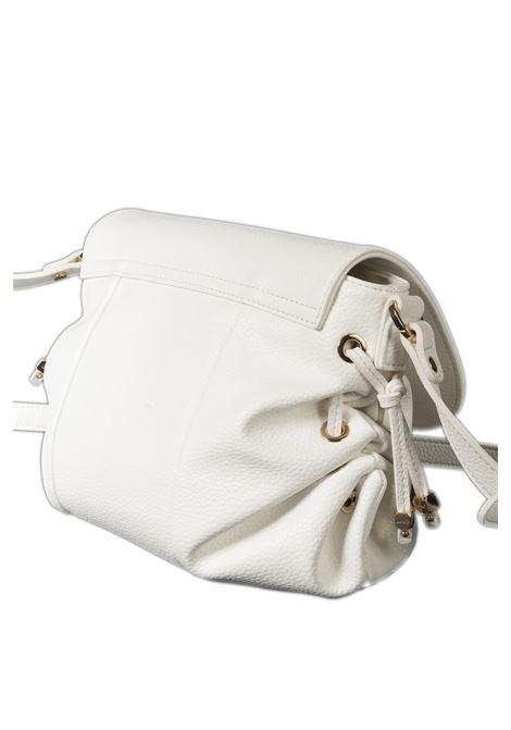 Tracolla patta bianco LIU JO | Borse mini | A1248E0027PELLE-01065